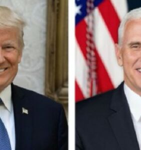 White House releases official Trump/Pence portraits. You can guess what happened next.
