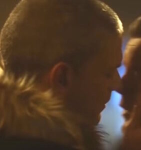 Russell Tovey and Wentworth Miller share passionate kiss