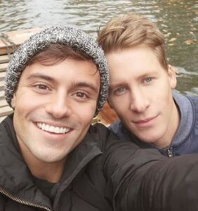 Did Dustin Lance Black just out Tom Daley as bisexual?
