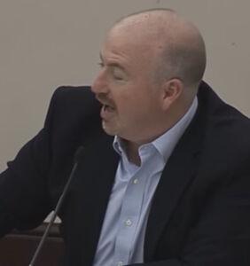 Watch this antigay GOP lawmaker go ballistic when colleague touches him