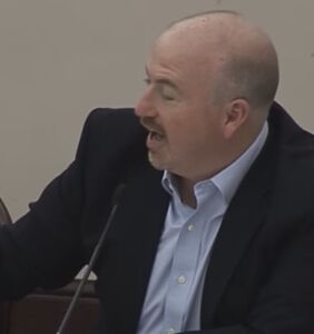 Watch this antigay GOP lawmaker go ballistic when colleague touches him