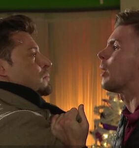 """Ryan Knight and Ste Hay shock fans with wholly unexpected kiss on """"Hollyoaks"""""""