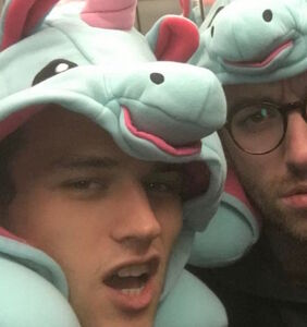 """It's official: Sam Smith and """"13 Reasons Why"""" star Brandon Flynn take their relationship public"""
