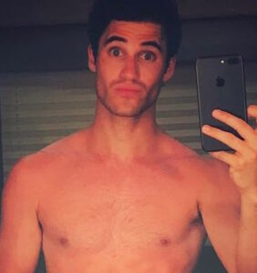 Why did Darren Criss post this utterly unclothed photo to Instagram? It's not what you think.