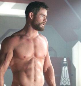 Chris Hemsworth ramps up the drama with swashbuckling shirtless selfie