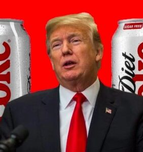 Trump has consumed 3960 Diet Cokes since taking office, and other gross facts about POTUS
