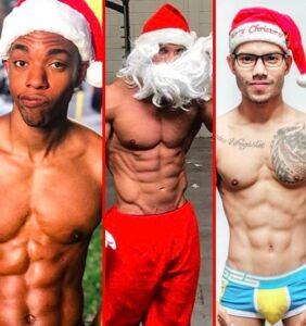 Ho Ho Ho: Hunky amateur Santas sleigh on Instagram
