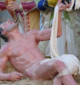 The Internet is certifiably shooketh over Vatican's homoerotic Nativity scene