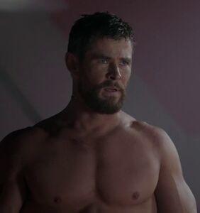 Chris Hemsworth's revealing 'Thor: Ragnarok' scene has found its way to the web