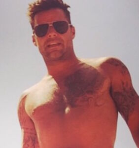 Ricky Martin continues testing the bounds of Instagram's censorship policy with steamy bathroom pic