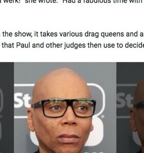 "Fox News doesn't know RuPaul's last name, so they just used ""Paul"""
