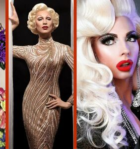PHOTOS: The 10 fiercest drag queen makeup looks of January 2018