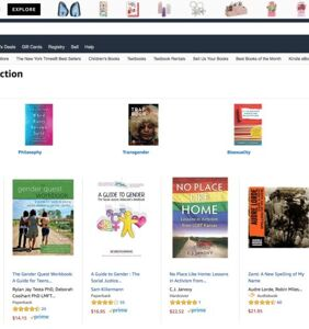 Amazon promotes '#1 bestseller' in LGBTQ section that's anti-LGBTQ