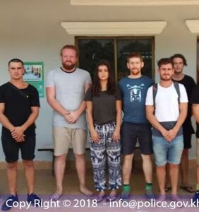"""10 foreigners face Cambodian prison sentence for """"dancing and singing pornographically"""""""