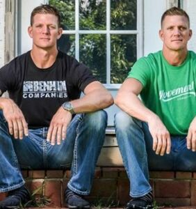 """Benham Brothers insist they aren't """"weak men"""" because they don't have """"limp wrists"""""""