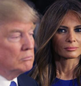 "Melania quits campaigning for her husband, blames it on a cough, and Twitter's like ""Sure, Jan"""