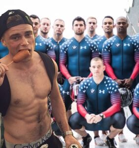 Guess what Gus Kenworthy is most excited for at the Winter Olympics?