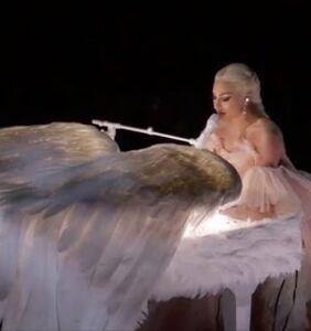 WATCH: Lady Gaga's Grammy performance was downright angelic