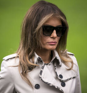 """Actual footage"" of Melania fleeing the White House is blowing up on Twitter"