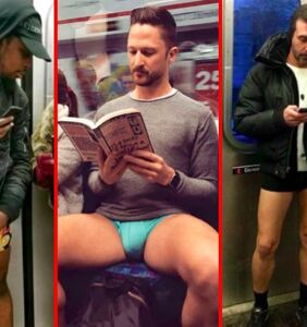 Undies in the underground: Our favorite photos from the 2018 No Pants Subway Ride