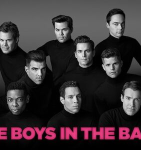 "The all-gay cast of ""The Boys in the Band"" revival thinks there's something you need to know"