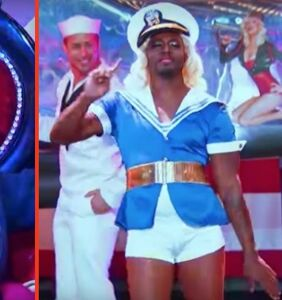 Taye Diggs stuns Christina Aguilera with this 'Candyman' drag number