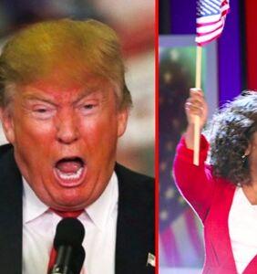 """Donald Trump: """"I'll beat Oprah!"""""""