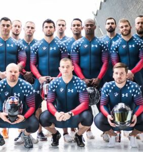 Get intimately acquainted with the U.S. bobsledding team's thirstiest shares