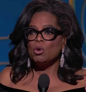 Cellphone video captures Oprah revealing if she's running for president