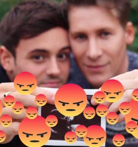 People are really pissed off about Tom Daley and Dustin Lance Black having a baby