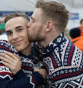 Why has Gus Kenworthy racked up lucrative endorsements while Adam Rippon has not (yet)?
