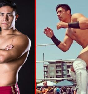 """Wrestling star celebrates """"Rookie of the Year"""" award by coming out as gay"""