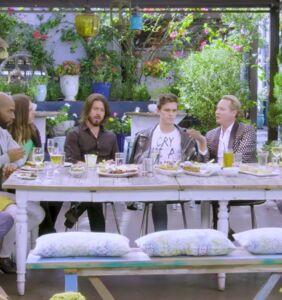 Original 'Queer Eye' cast meets up with Netflix's new fab five for self-congratulatory boozy brunch