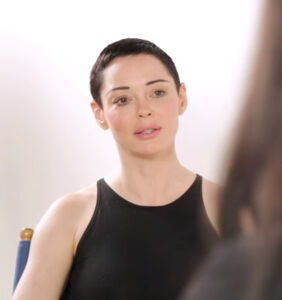 Rose McGowan says Russian trolls are unleashing bots it used against Hillary on her