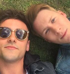 Tom Daley and Dustin Lance Black are bringing a third into their relationship