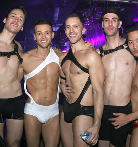 PHOTOS: See what happens after dark at Brooklyn's Black Party