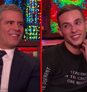 """Adam Rippon gets flirty with Andy Cohen, says he needs a """"rough top"""""""