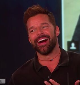 """Ricky Martin responds to Gus Kenworthy's M4M ad, says he """"definitely"""" wants to """"connect"""""""