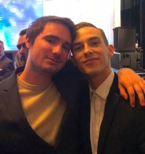 Adam Rippon hooks up with Sally Field's son