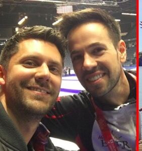 Get better acquainted with professional curler John Epping and his super cute husband