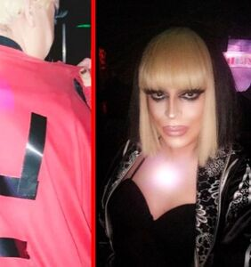 """Drag queen says she """"stands by"""" Nazi outfit and heiling Hitler on Instagram"""