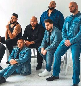 Plus-size male models recreate iconic Calvin Klein shoot to show sexy comes in all sizes