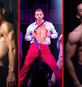 And the the 10 hottest chorus boys on Broadway are…