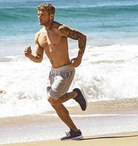 Ryan Phillippe at 43: Still serving serious body at the beach