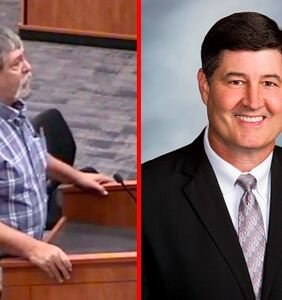 School superintendent laughs in the face of a man he tormented in middle school