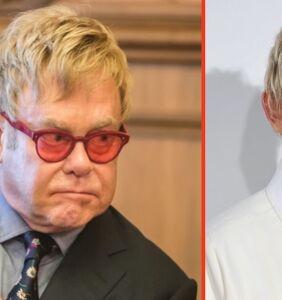 Elton John's nasty 9-word response to Ellen when she came out