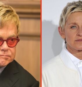 Elton John's nasty 9-word response to Ellen when she came out