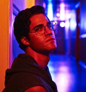 Treat yourself to an unobstructed view of Darren Criss skinny-dipping