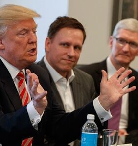 Peter Thiel is now connected to the Cambridge Analytica scandal. Of course.