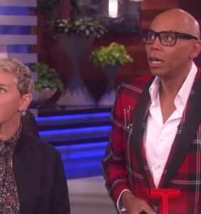 RuPaul and Ellen terrorize two women as their husbands lip sync and WHAT IS HAPPENING?!